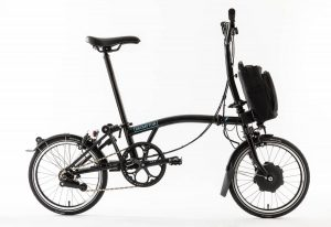 thecoolbikingcompany-Brompton-Electric-zwart-zijzicht