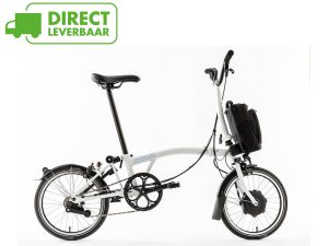 Brompton Electric - wit - 6 versnellingen