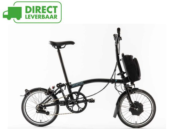 Brompton Electric – zwart